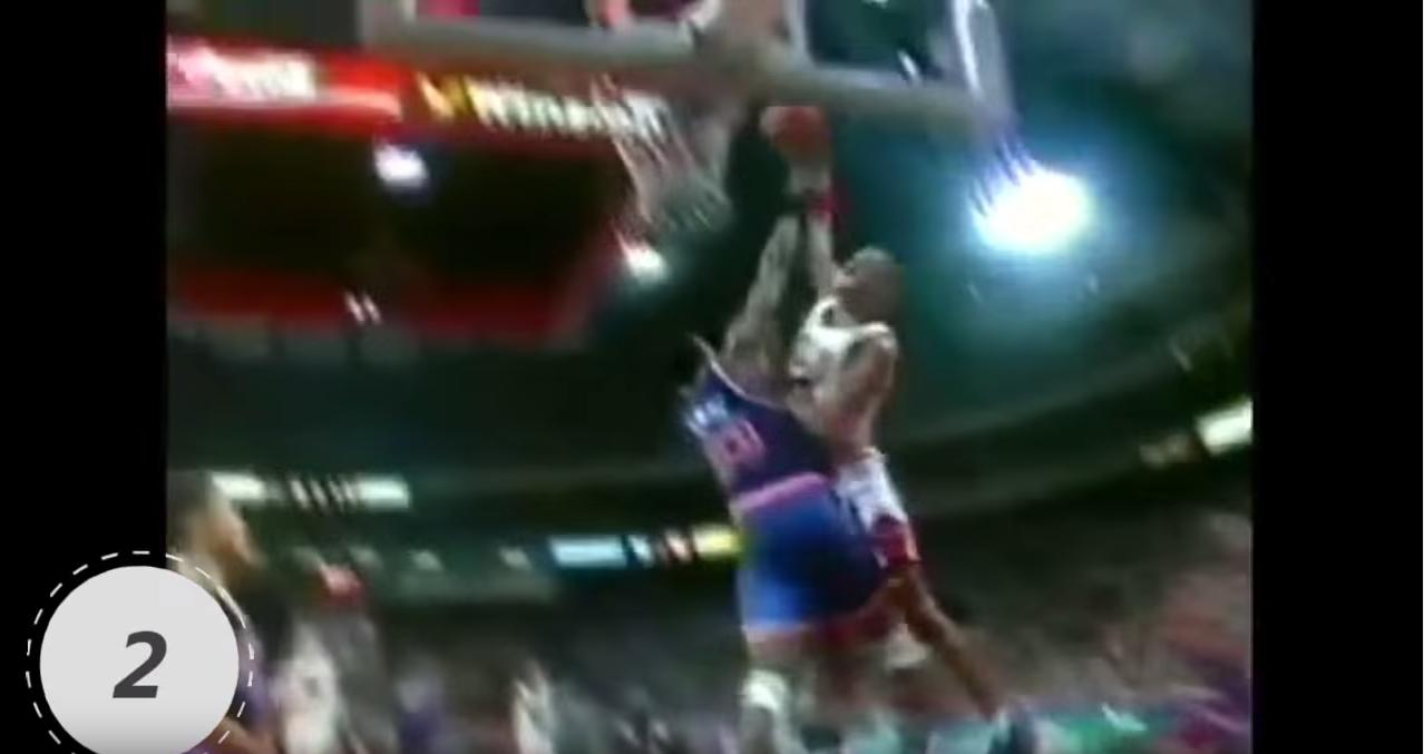Top : Les 100 plus gros dunks de l'histoire de la NBA