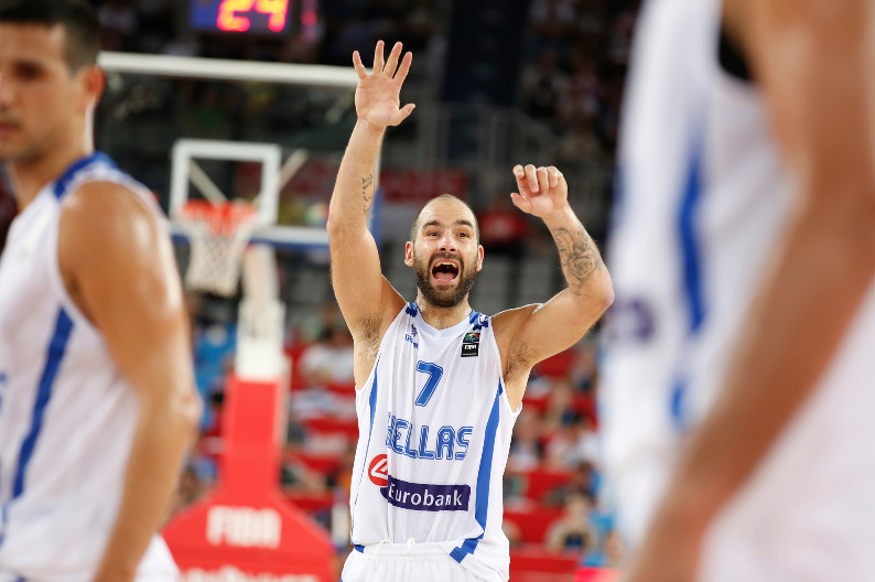 Vassilis Spanoulis Grèce Credit FIBA
