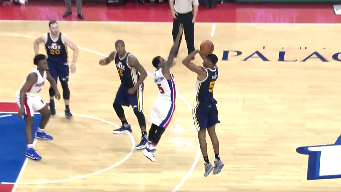 Les Pistons de Drummond enchaînent contre Utah, Caldwell-Pope décisif