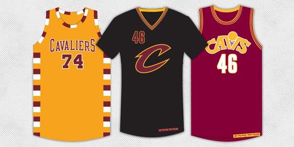 Cavaliers : Trois nouveaux jerseys dévoilés
