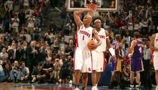 Detroit Pistons 2004 : Wallace et gros mythe