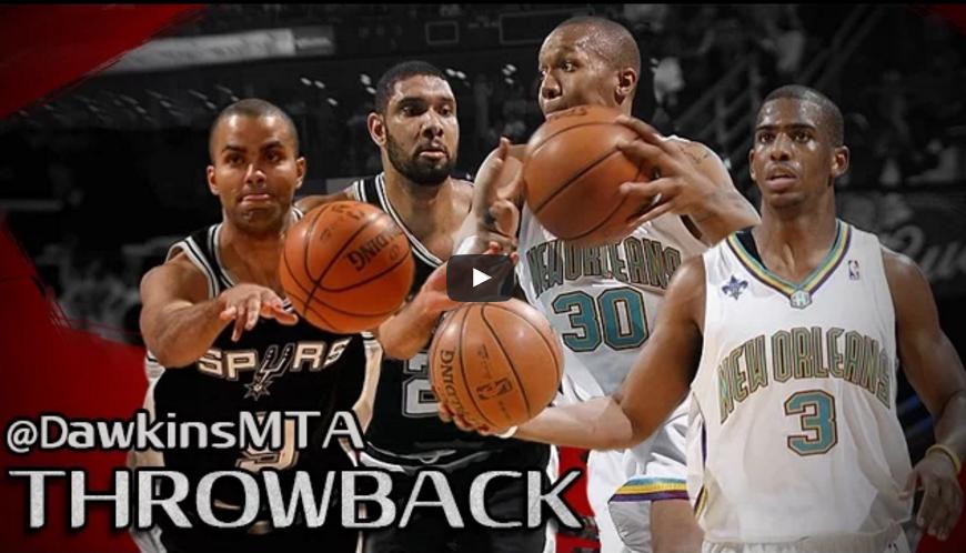 Vintage : Quand Chris Paul et NOLA se payaient les Spurs