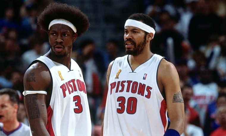 Pistons 2004 : Wallace et gros mythe