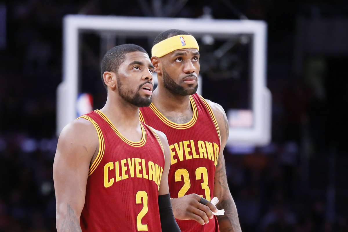LeBron, Kyrie Irving et Kevin Love ont compilé plus de 100 points dans un match !