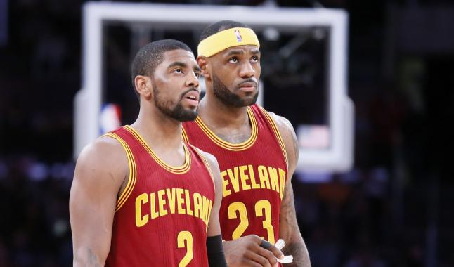 Du mieux entre LeBron James et Kyrie Irving ?