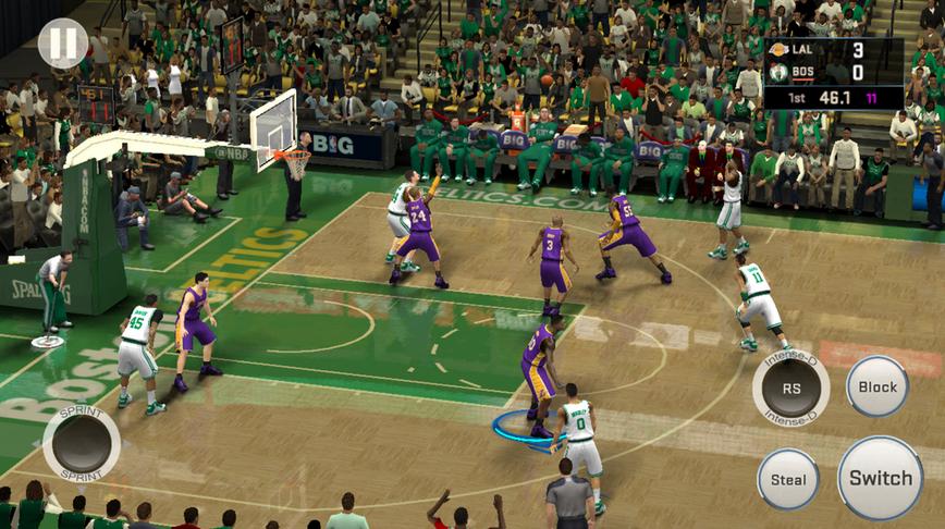 NBA 2K16 disponible sur appareils mobiles