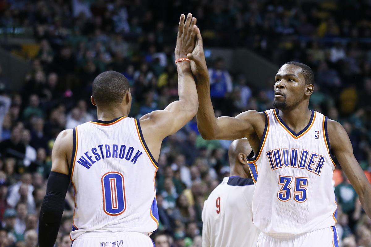 Le Thunder trop dépendant de Durant et Westbrook ?