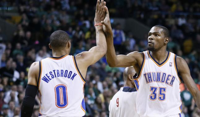 Monstres : le duo Russell Westbrook – Kevin Durant dans l'histoire