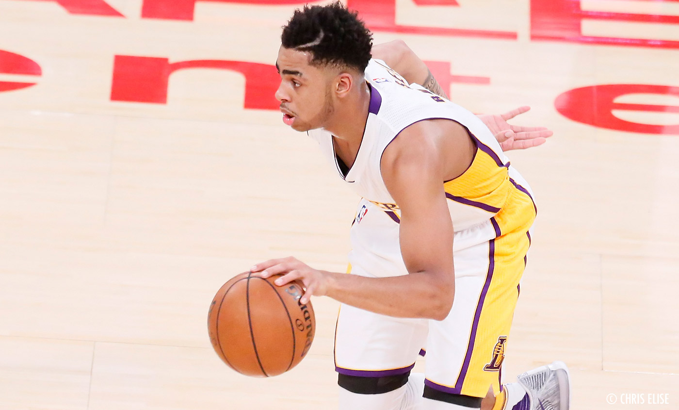 Kobe Bryant ? D'Angelo Russell n'a plus aucune nouvelle...