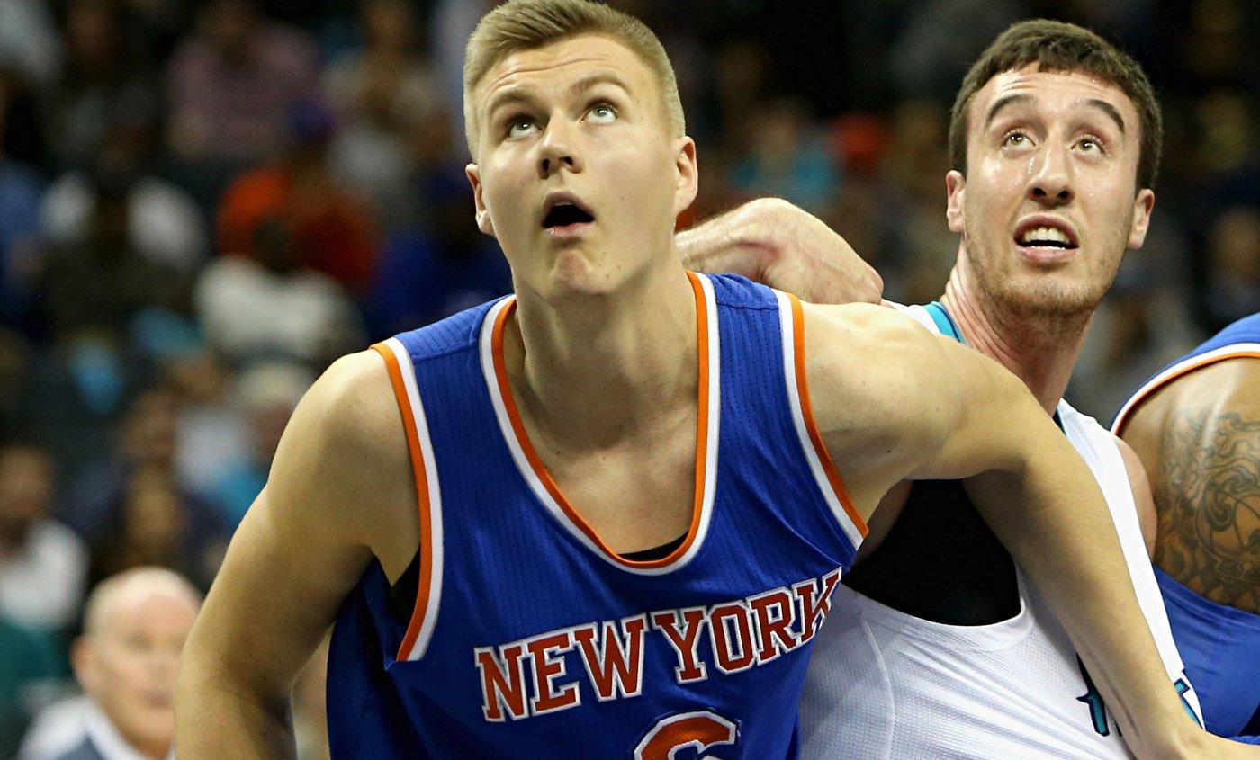 Kristaps Porzingis emballé par le nouveau visage des New York Knicks