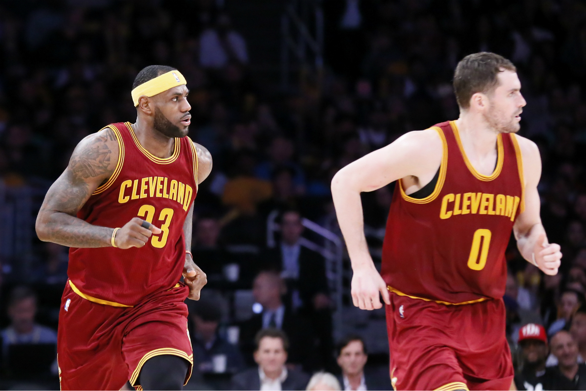 Point stat : 89 points pour LeBron James, Kyrie Irving et Kevin Love cette nuit