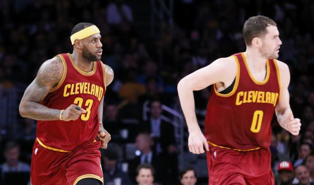 LeBron James attend avec impatience le retour de Kevin Love
