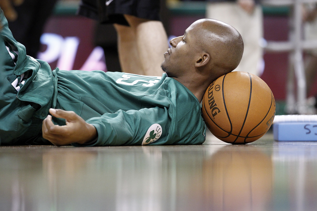 Ray Allen s'incline,