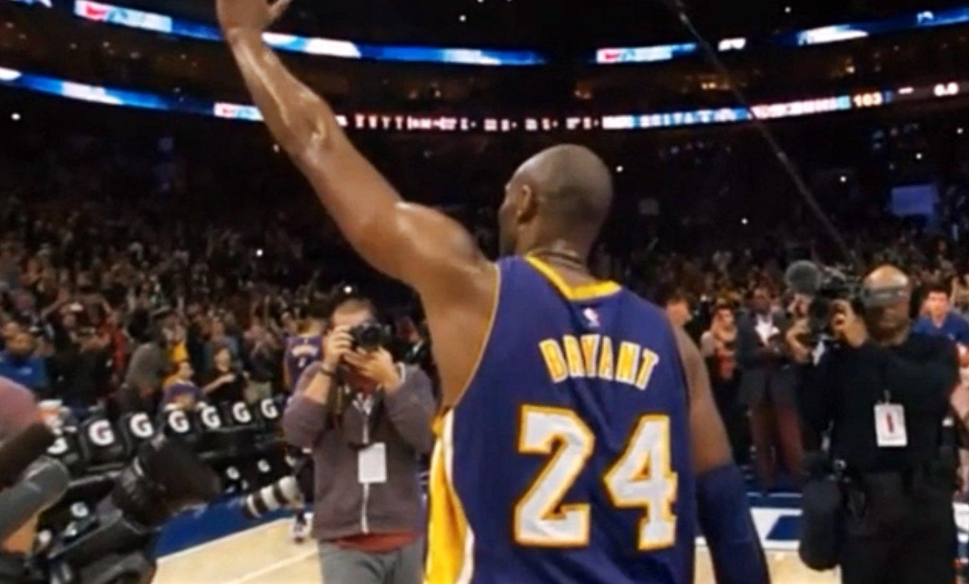 Kobe Bryant : le superbe hommage de Jerry West