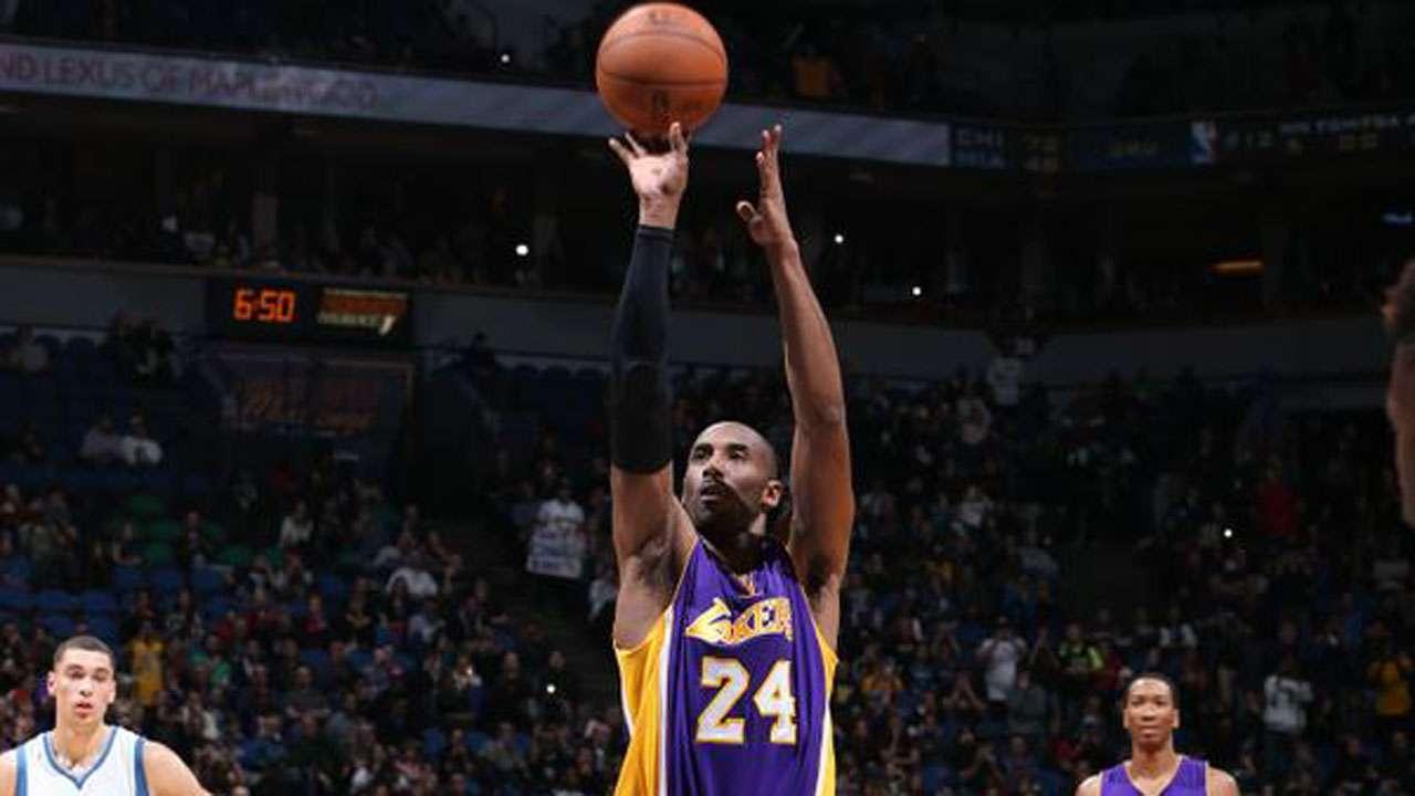Kobe Bryant et le pouvoir des chaussettes