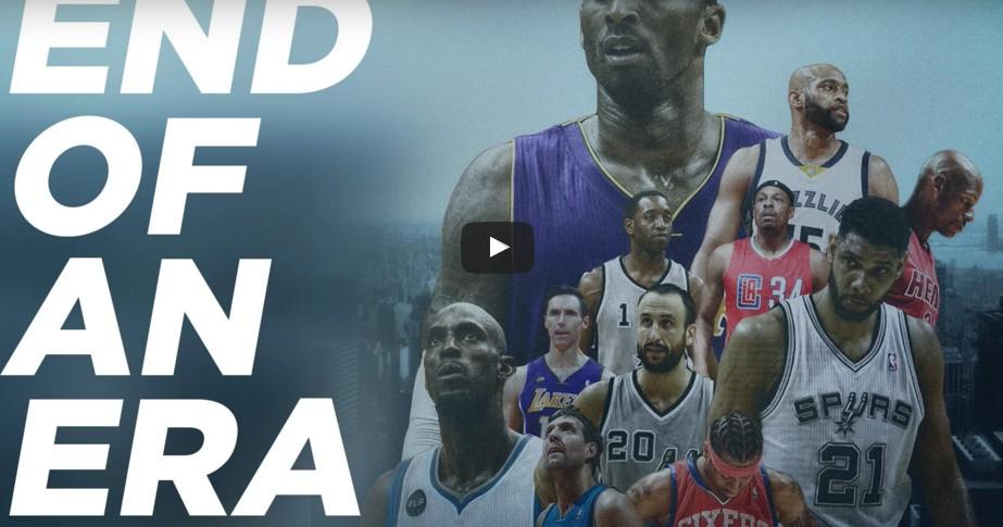 Mix : Kevin Garnett, Allen Iverson, Kobe Bryant... la fin d'une époque