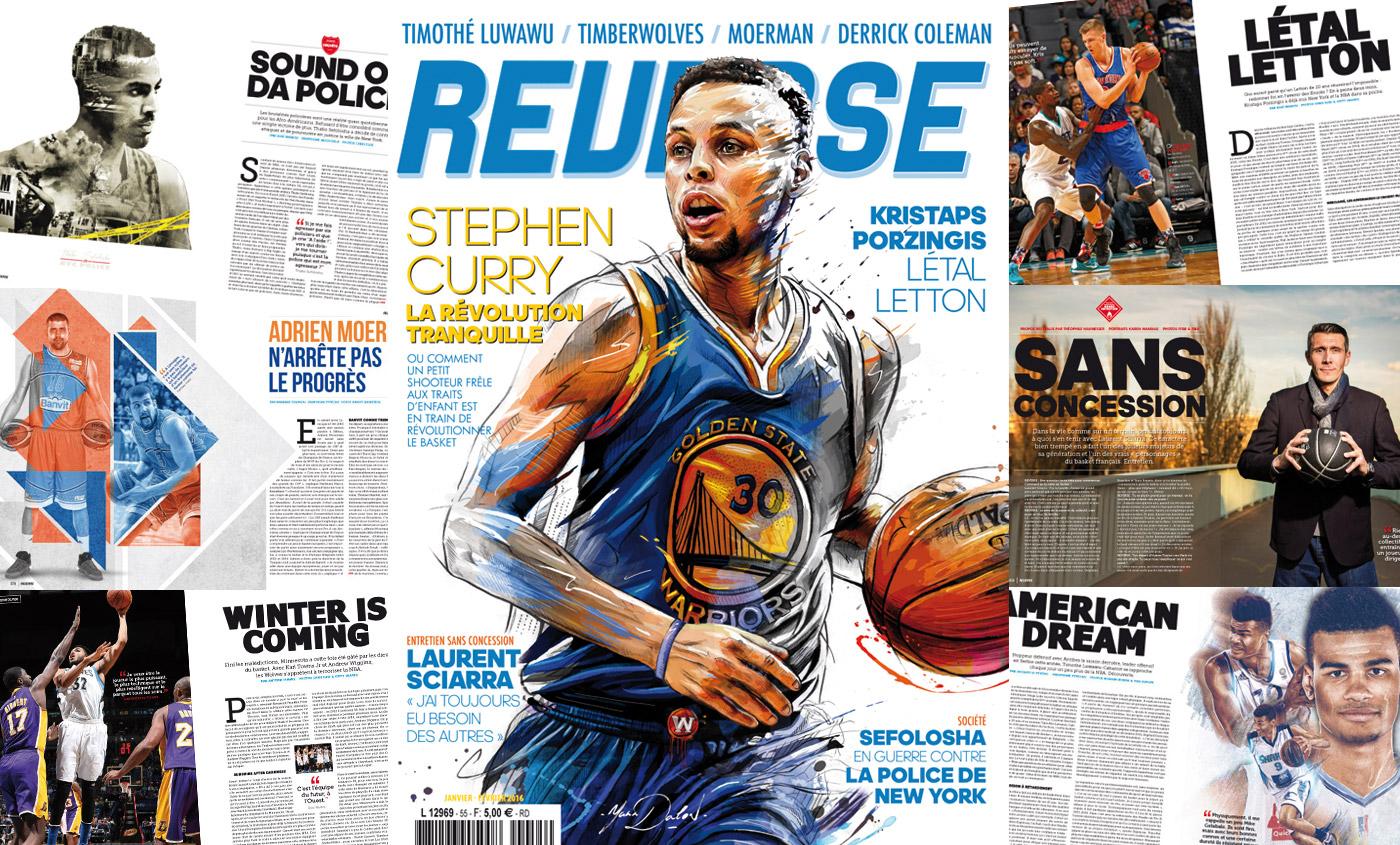 REVERSE 55 : La révolution Stephen Curry est... en kiosques !
