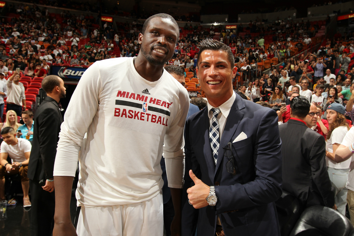 Cristiano Ronaldo fan du Miami Heat ?