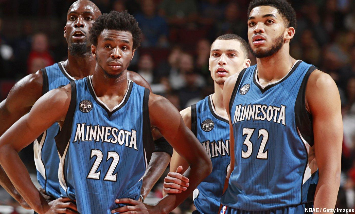 Les Timberwolves prêts à tout pour conserver leur Big Three