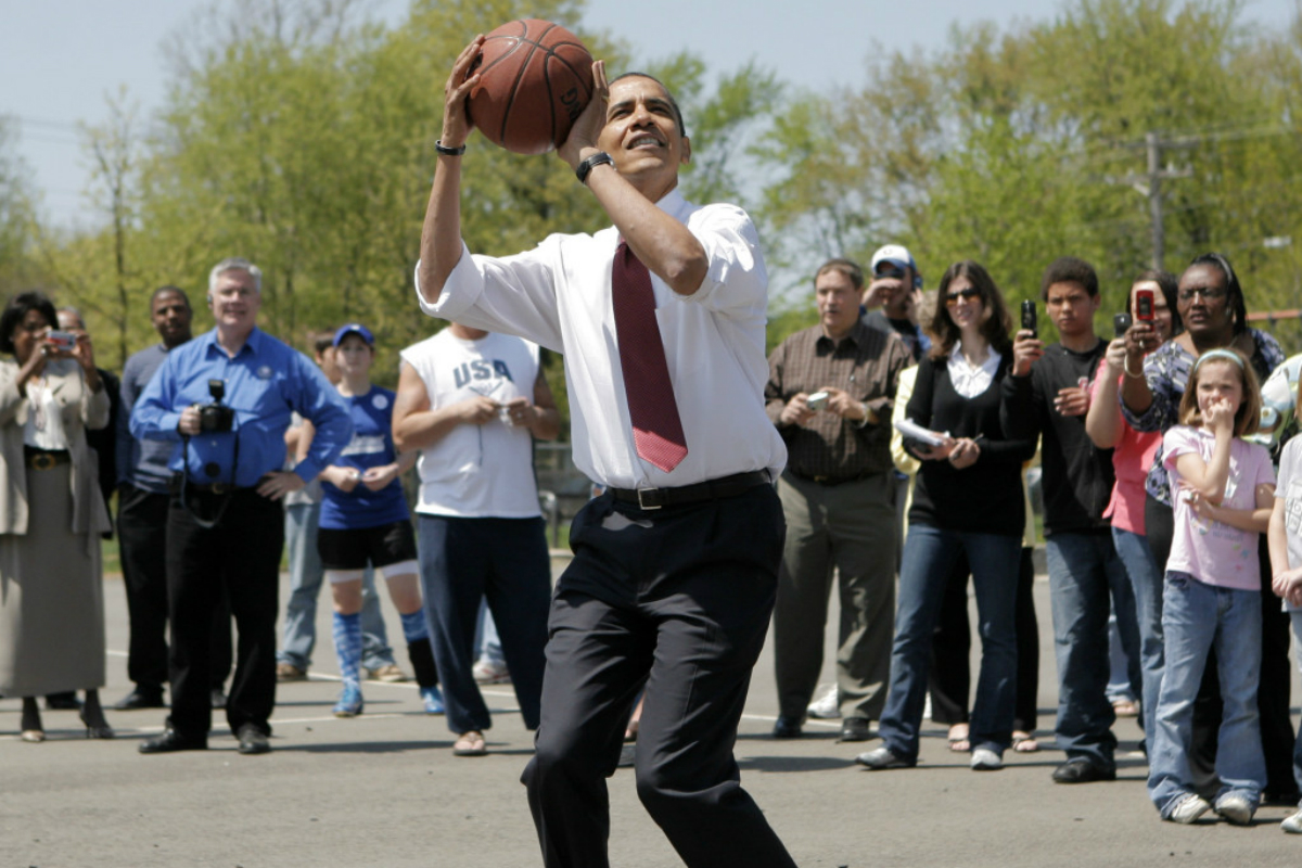 Barack Obama mise sur les Golden State Warriors