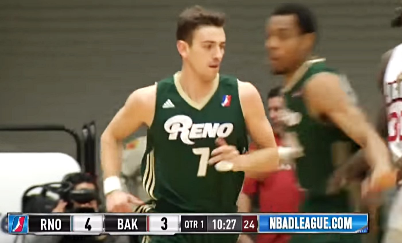 Le fils de John Stockton cartonne en D-League (32 points)