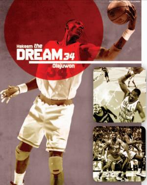 Hakeem Olajuwon Houston Rockets Dream