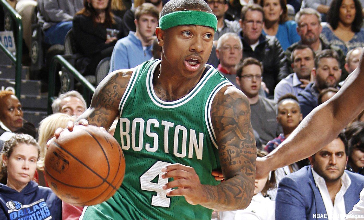 Isaiah Thomas a rejoint les grandes légendes des Celtics