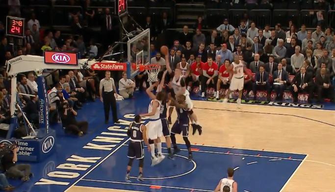 NBA Top 10 : Porzingis dunke au-dessus de 1566465 joueurs du Thunder !