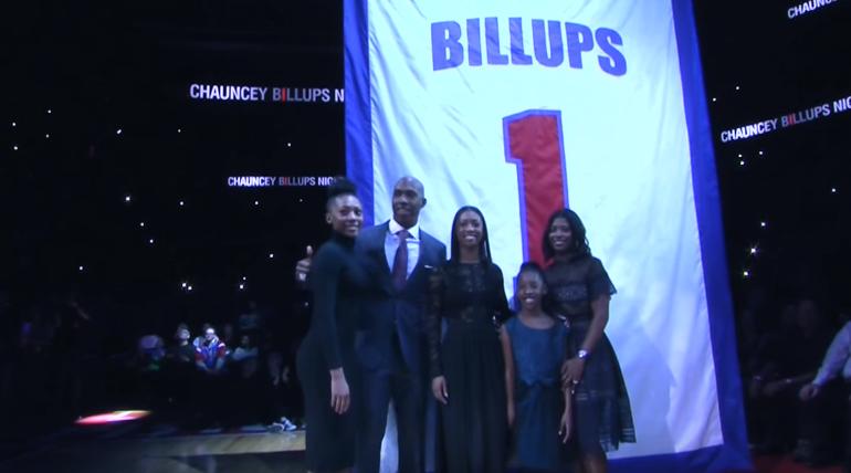 Emouvant : L'hommage des Pistons à Chauncey Billups