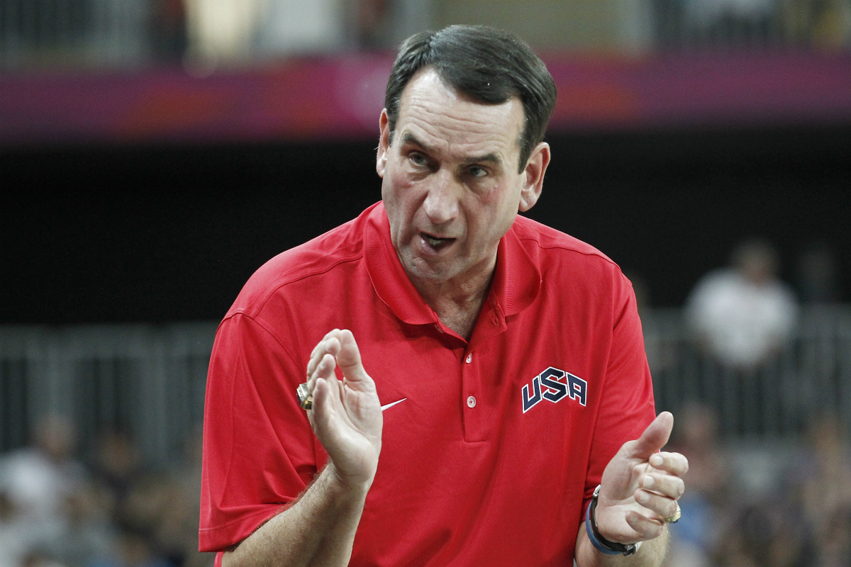 Team USA Coach K