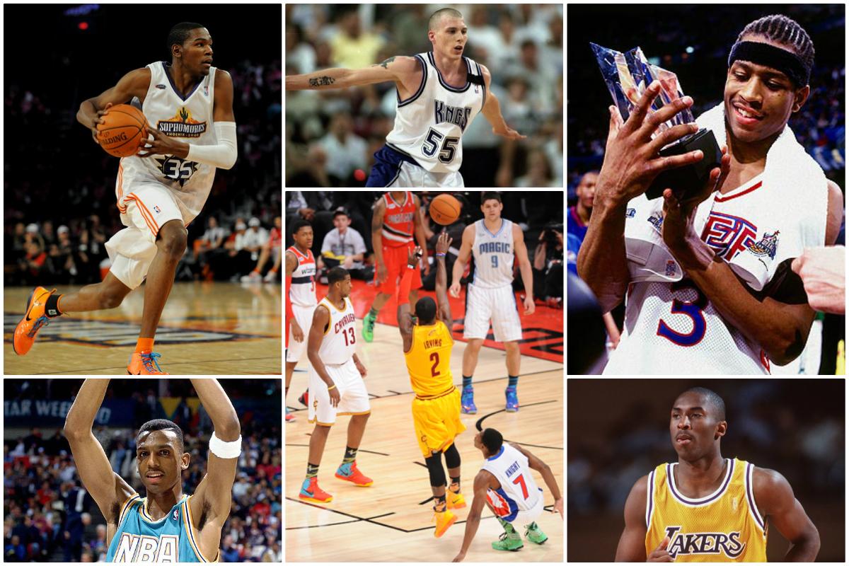De Allen Iverson vs Kobe Bryant au génie de Jason Williams : les 10 plus grands moments du Rookie Game