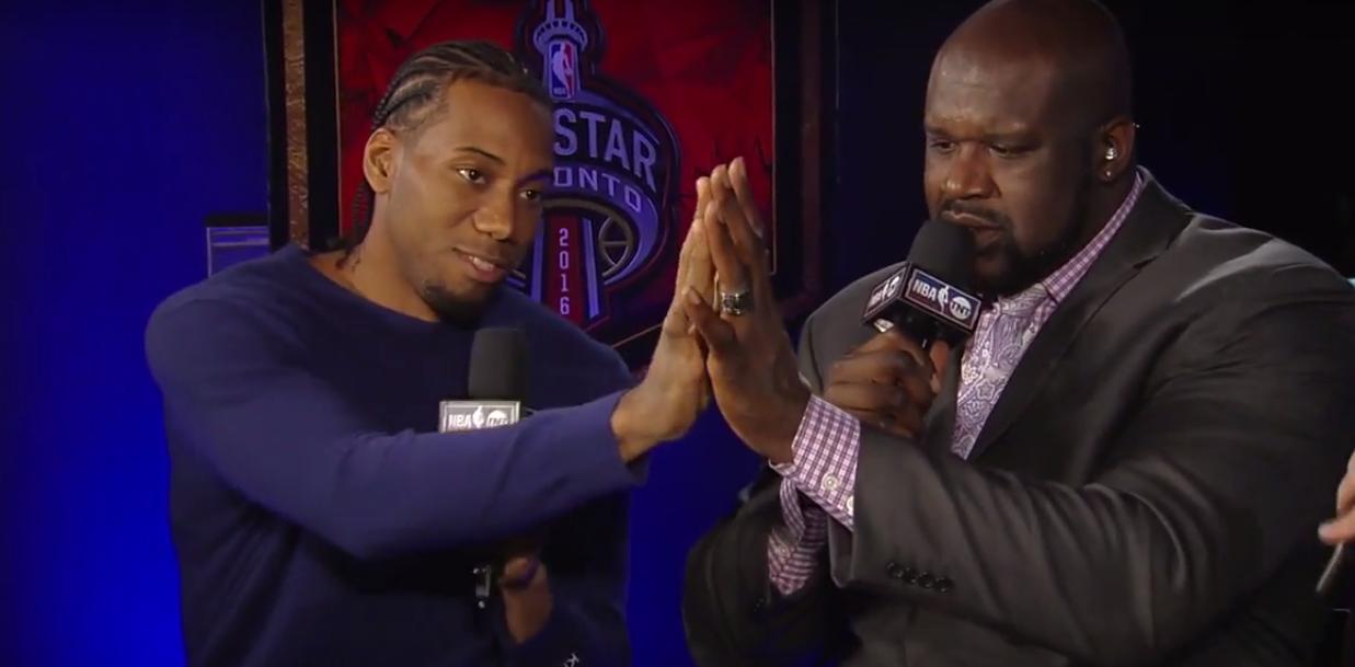 Cavaliers Vs Lakers >> Kawhi Leonard compare ses mains à celles de Shaquille O'Neal