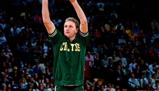 Quand Larry Bird claquait 47 points avec sa mauvaise main