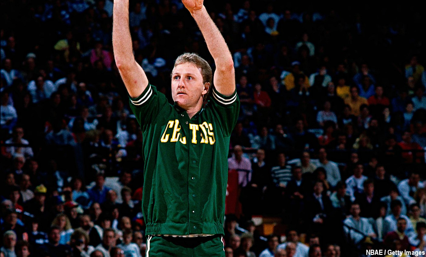Vintage : Larry Bird réussit le Three-Peat au concours à 3 points