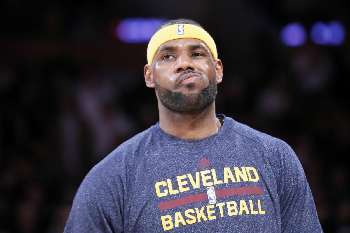 Les Cavs de LeBron James en gestion face aux Hawks...