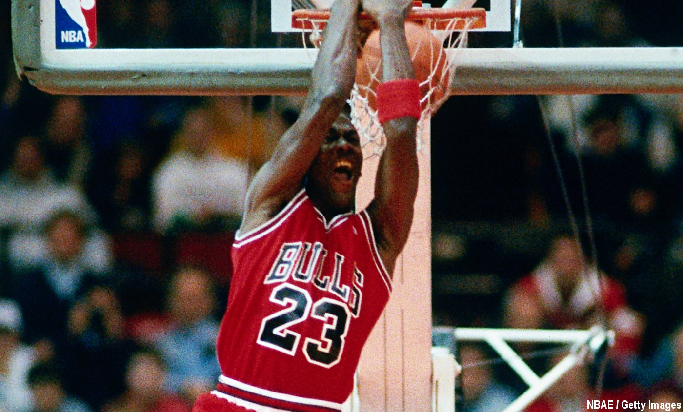 Michael Jordan Il Sentranait Sur Le Plateau De Space Jam