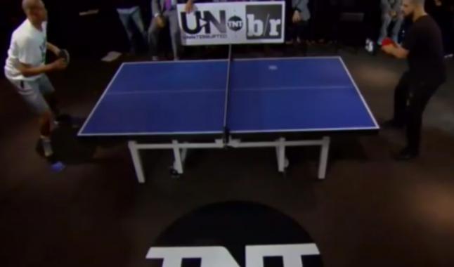 Reggie Miller défie Drake… au ping-pong.