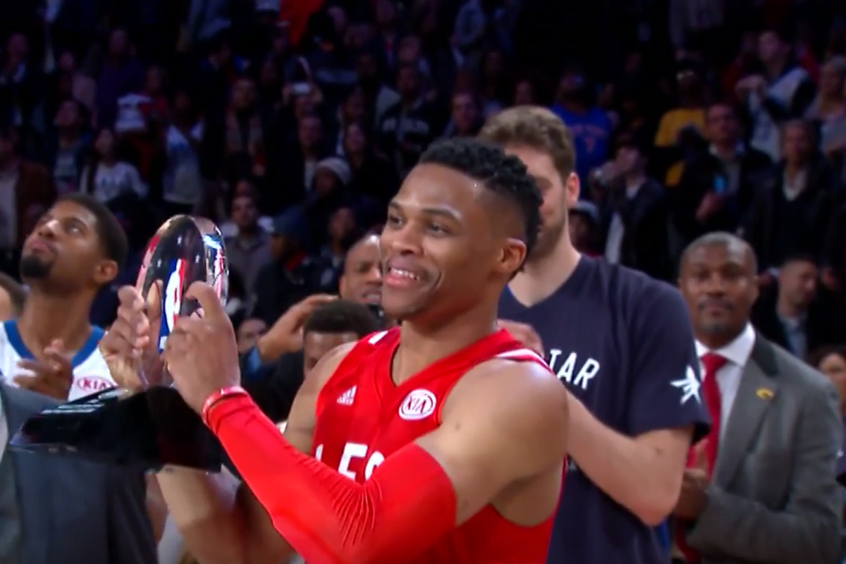 Le best of de Russell Westbrook au All-Star Game 2016
