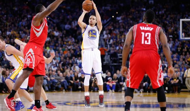 Golden State et Houston font tomber deux records à 3 points