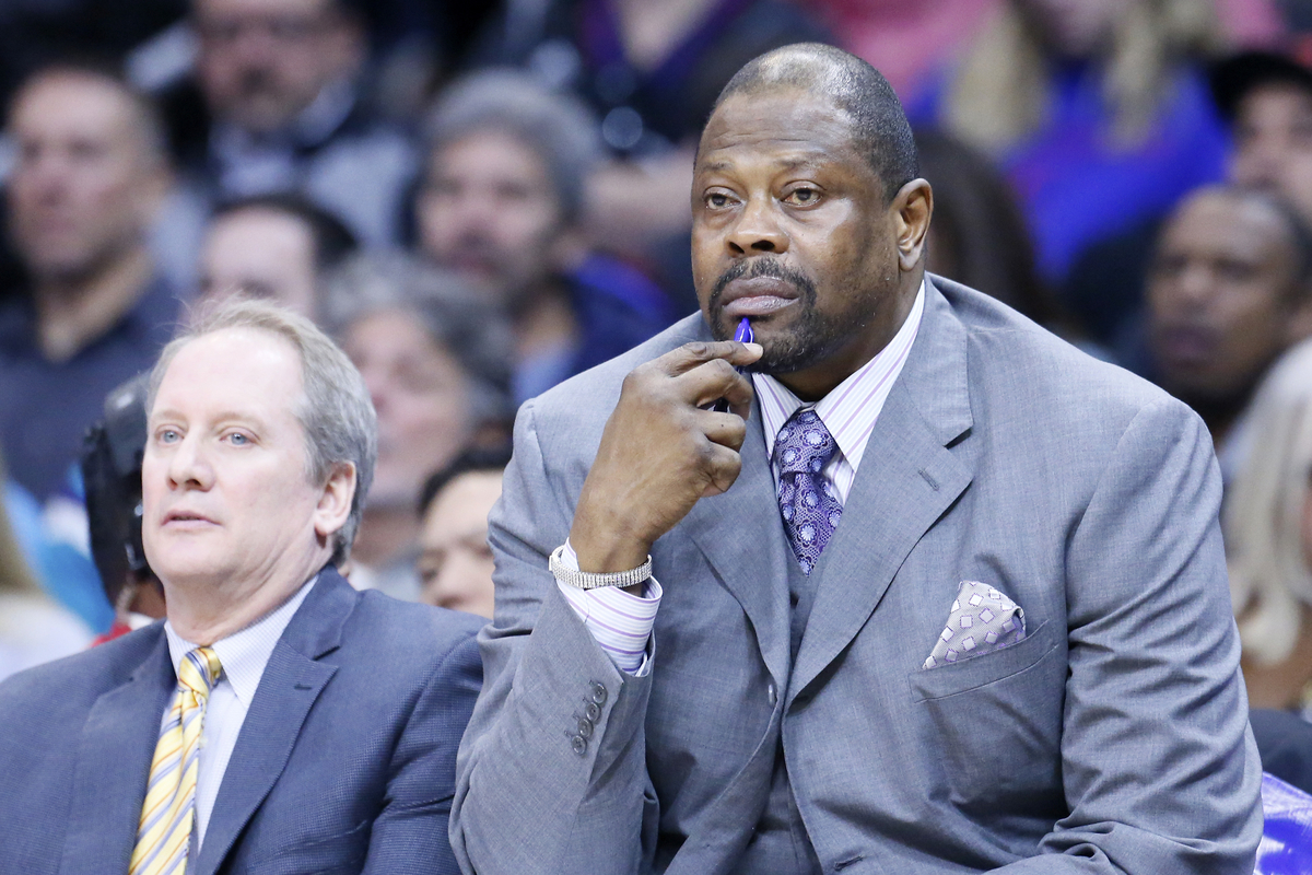 Patrick Ewing drague les Knicks