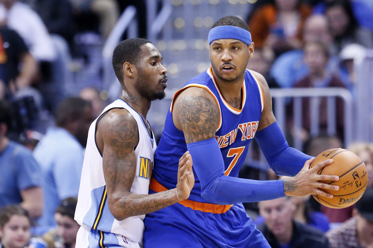 Carmelo Anthony en a marre d'entendre parler du triangle