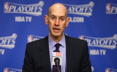 Adam Silver « pas inquiet » par la domination des Cavs et des Warriors