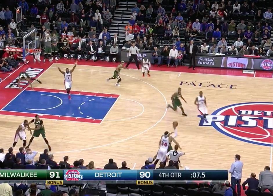 Les Pistons ont-ils volé la fin de match contre les Bucks ?