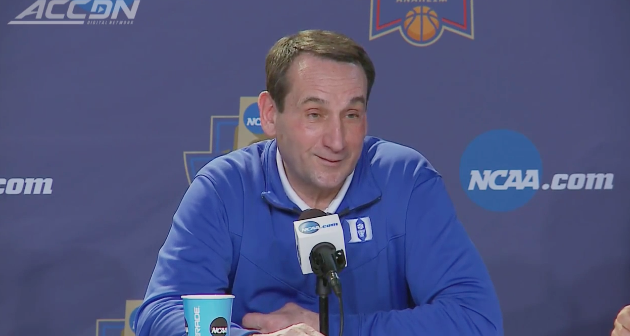 Coach K sur Stephen Curry :