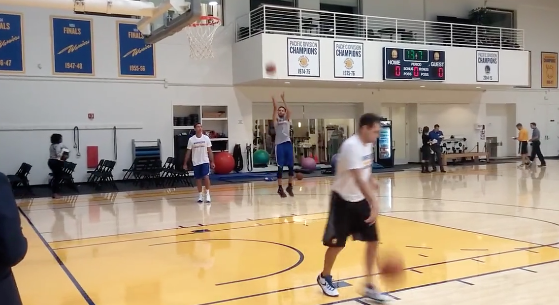 Stephen Curry-Steve Nash, leur entraînement commun