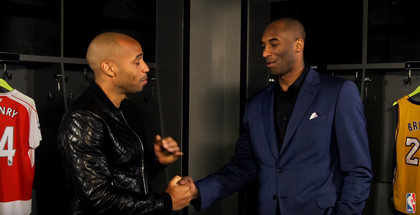 Quand Thierry Henry rencontre Kobe Bryant