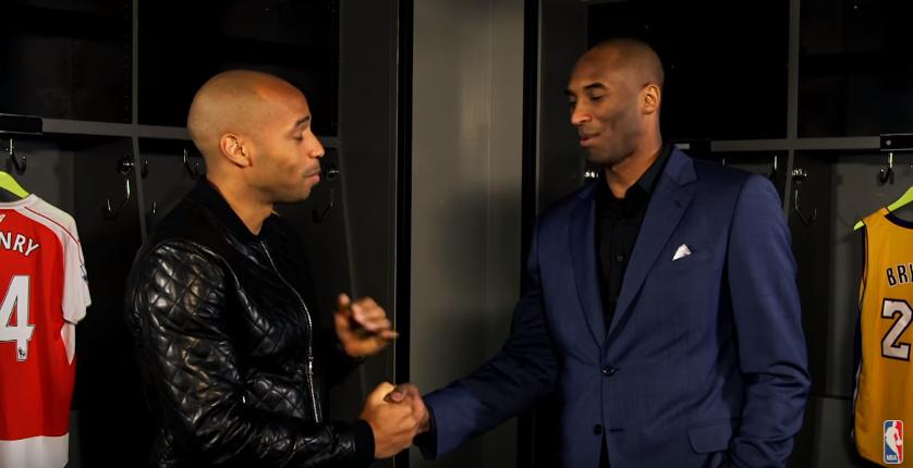 Quand Thierry Henry rencontre Kobe Bryant