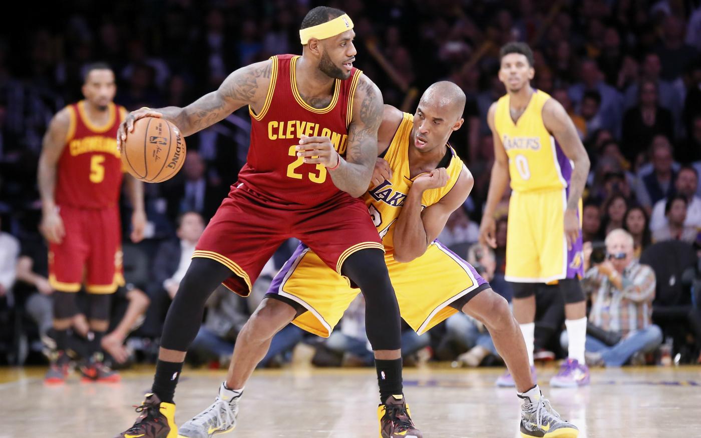 Kobe Bryant explique comment défendre sur LeBron James