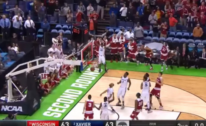 March Madness : Un buzzer beater envoie Wisconsin au Sweet 16 !