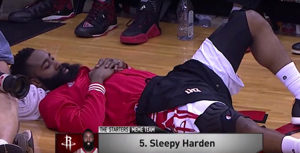 Le bêtisier de la semaine : Harden tape une sieste, Drake fait des siennes !